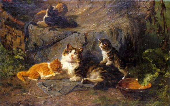 Kittens Julius Adam Private Collection