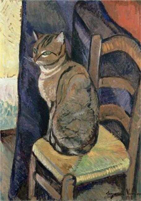 Study of a Cat Suzanne Valadon 1918 Private Collection