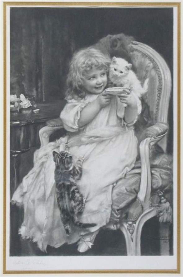 Make Haste Arthur John Elsley 1895 Private Collection