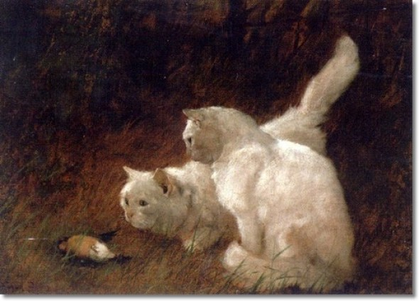 Watchful Eye Arthur Heyer Private Collection