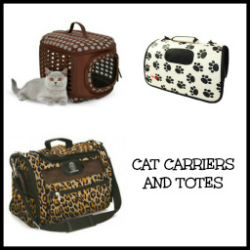 cat carriers, bags, porters, totes, cat product guide and reviews at The Great Cat