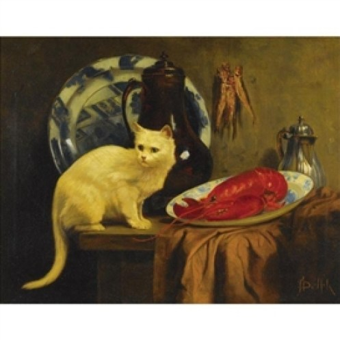 Dinner Time John Henry Dolph Private Collection
