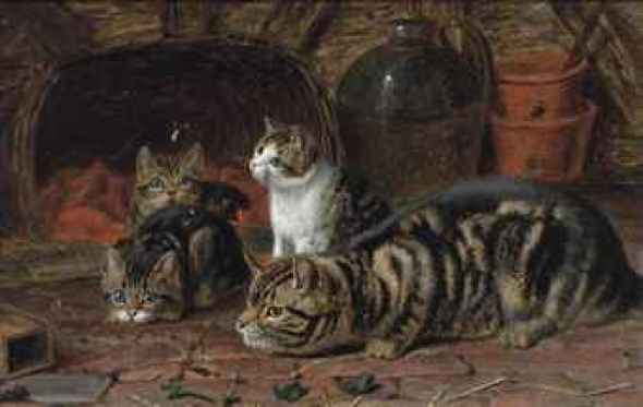 The First Lesson Horatio Henry Couldery Private Collection