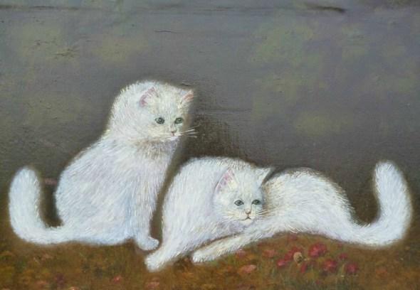cats in art, persian cats in art