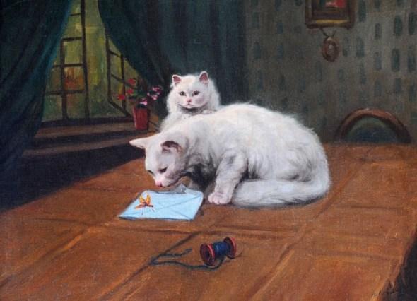 cats in art