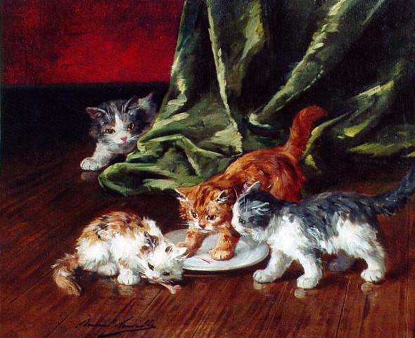 Kittens Arthur Brunel de Neuville