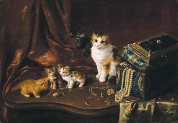 The Jewelry Box Arthur Brunel de Neuville