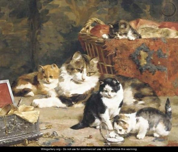 A Taste for Treasures Private Collection cats in art
