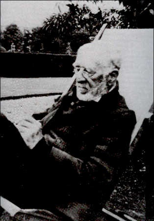 Louis Wain at Napsbury Hospital