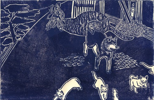 Shippeitaro and the Samurai Kill the Ghost Cats- Japanese Demon Cat