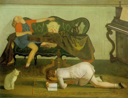 The Drawing Room Balthus 1942 Museum of Modern Art, NY