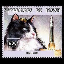 Felicette Postage Stamp