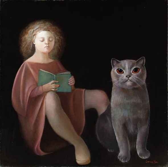 Leonor Fini cats