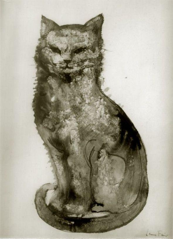Chat Noir Leonor Fini