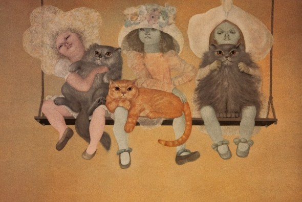 Les mutantes 1971 cats in paintings