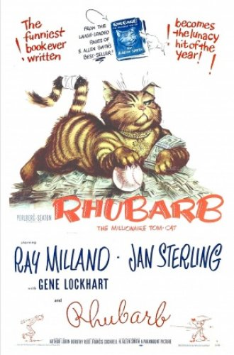 Rhubarb, cats in film, cats in cinema