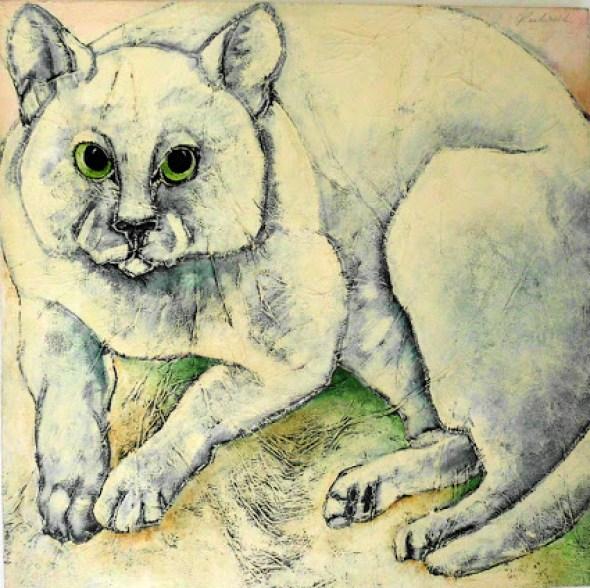 Silly Cat Carla Raadsveld, cat paintings