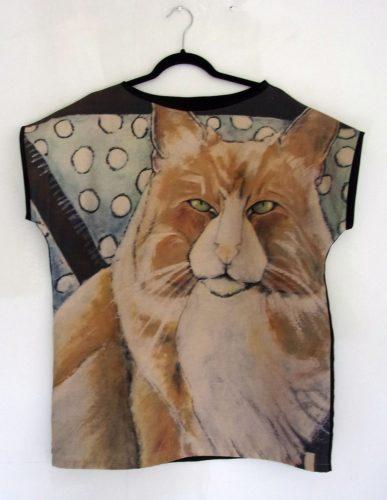 Ukko 2-Cat Art Top, Carla Raadsveld
