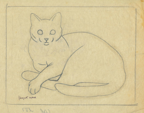 Cat Sketch, JL Nam