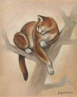 Cat in a Tree, Lehmann (Nam)