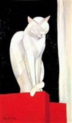 Chat de face, cats in french art