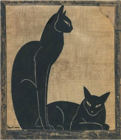 Two Black Cats 1920-1925, Lehmann Nam