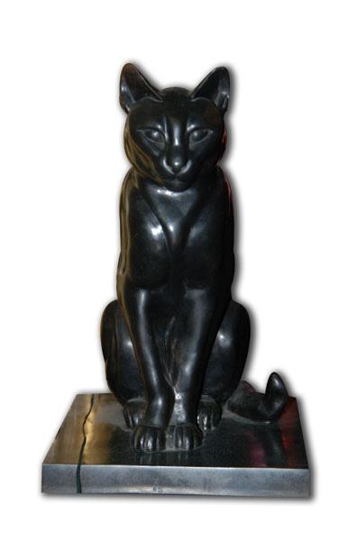 Egyptian cat sculpture, Nam