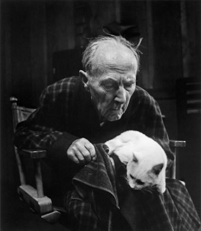 Edward Weston 1955 Photo by Wynn Bullock