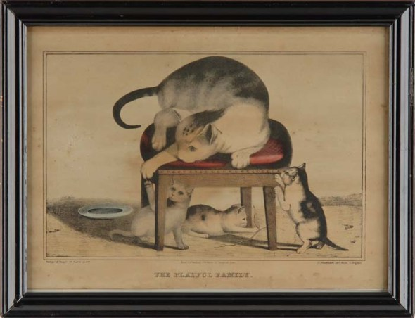 The Playful Family, Currier & Ives