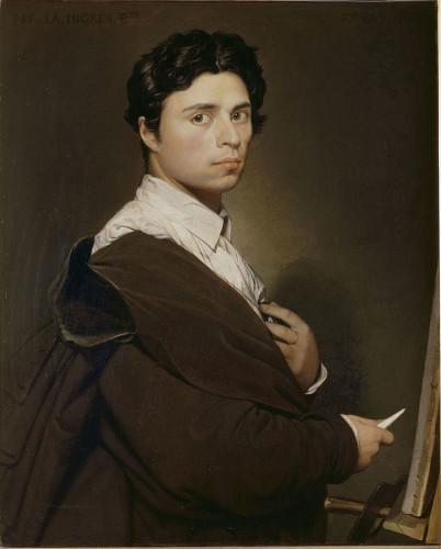Ingres,_Self-portrait