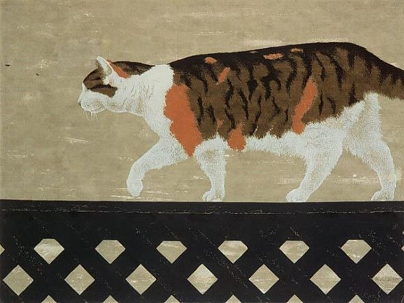 Cat on a Wall 1956 National Gallery of Canada, A. colville