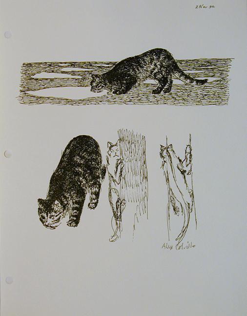 Cats 1992, Alex Colville