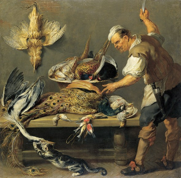 Cook in the Larder 1637 Frans Snyders