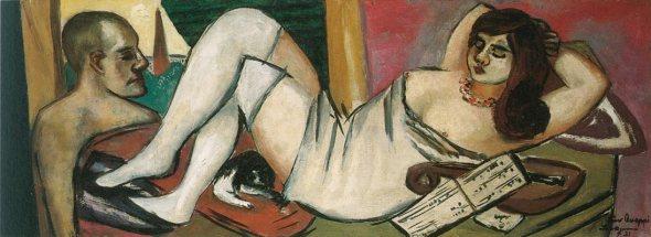 M Beckmann (1884-1950) lernte Mathilde von Kaulbach