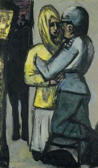 M Beckmann (German, 1884-1950) Leave-Taking