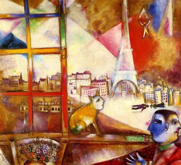 Paris Through my window 1913 Chagall