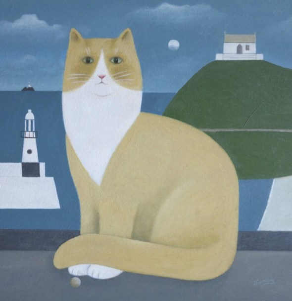 Cat by the Sea, M. Leman