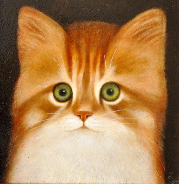 Martin Leman Marmalade cat