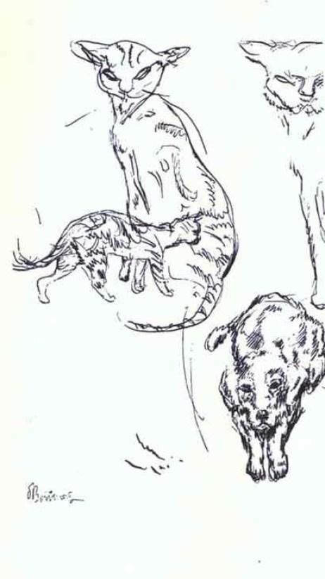 Pierre Bonnard (Francia, 1867-1947). My Companions