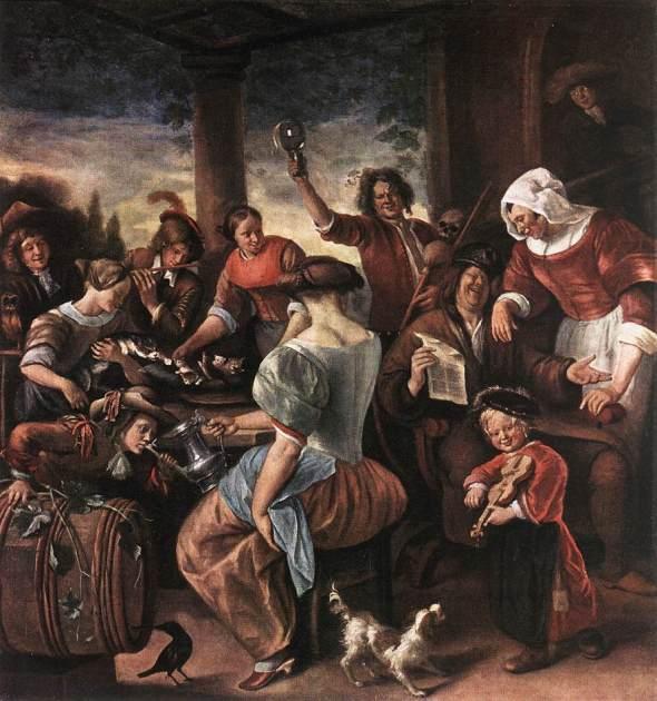The Cat Family, Jan Steen 1660