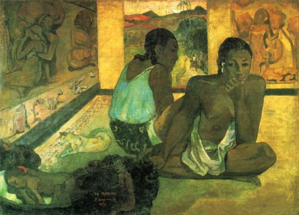 Der Traum - Paul Gauguin