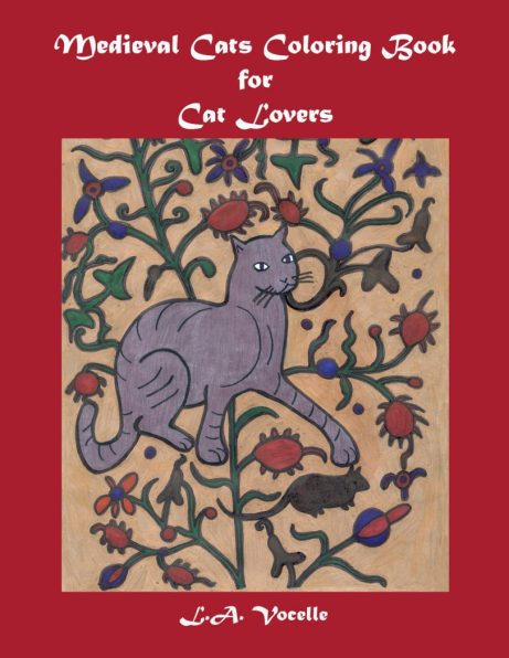MEDIEVAL CATS COLORING BOOK FOR CAT LOVERS | THE GREAT CAT