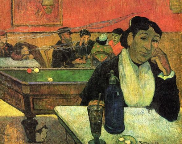 Night Café at Arles, (Mme Ginoux), (1888)