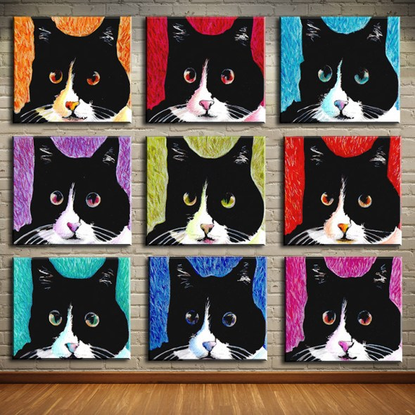 Warhol multiple cats