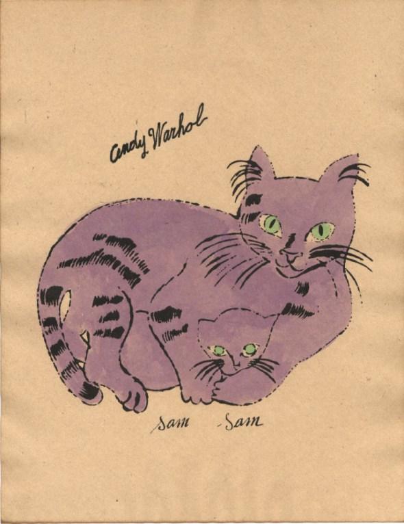 Andy Warhol, Purple Sam and Sam
