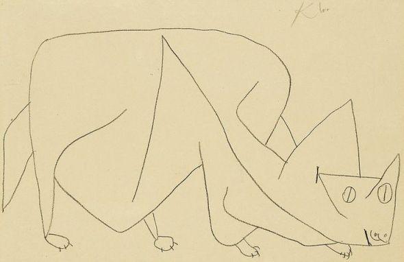 Paul Klee katten