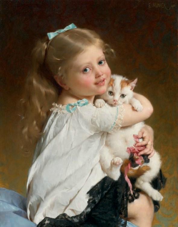 Emile Munier, Her Best Friend 1882