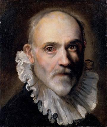 Federico Barocci Auto portrait, cat art