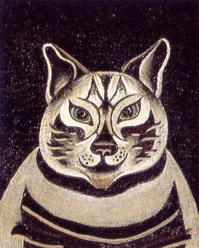 Joan Mirò. Détail du tableau ''La Fermière''. 1922-1923 detail of the Farmer's Wife
