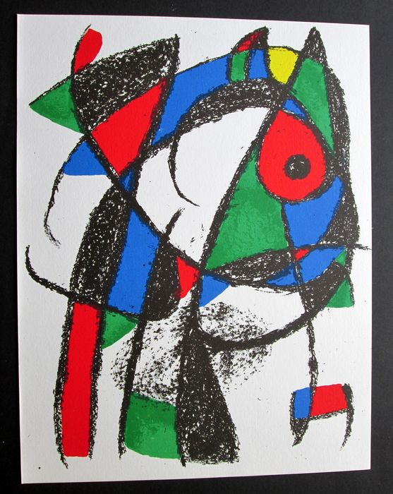 Joan Miró - Le Chat Coquin (The naugthy cat)